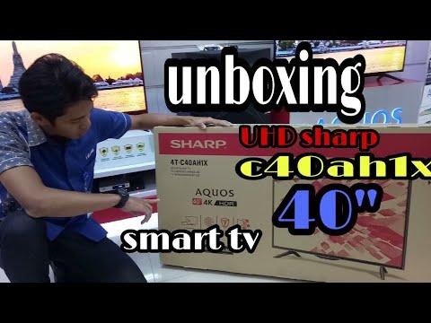 Sharp Uhd Smart Tv 4T-C40AH1X