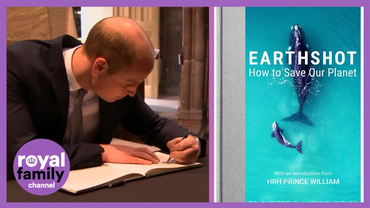 Prince William Pens Intro to Earthshot Book