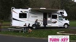 Turn Key RV Motorhome Trailer Rental of Oregon