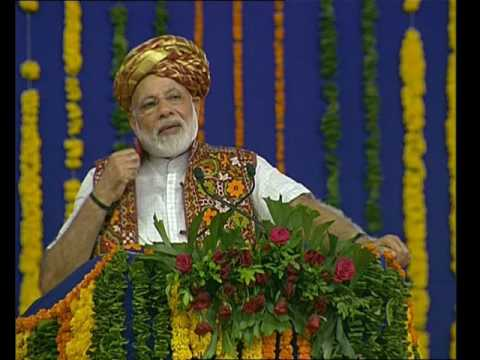 PM Modi's speech at the launch of Pumping Station in Kutch Canal in Bhachau, Gujarat