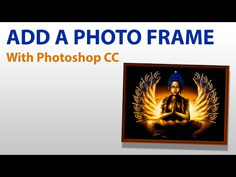 Add A Picture Frame To Your Digital Art Photoshop Cc Youtube
