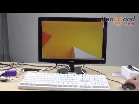 MoreFine M1 Mini PC Genuine License Dual OS Win8 1 Andriod Intel Z3735F
