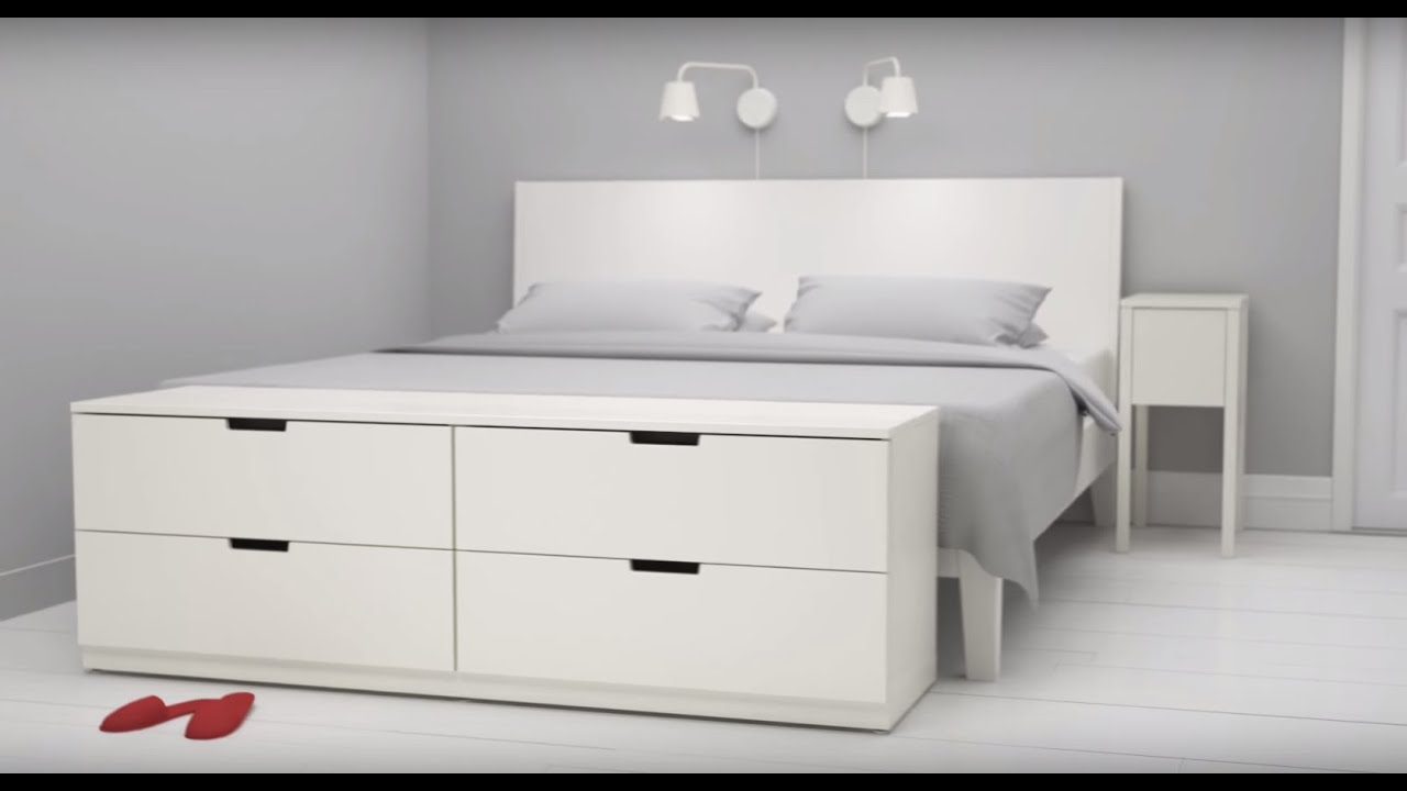 nordli kommoden von ikea kombinierst du wie du willst youtube. Black Bedroom Furniture Sets. Home Design Ideas