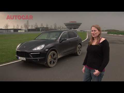 Porsche Cayenne drive review by autocar.co.uk