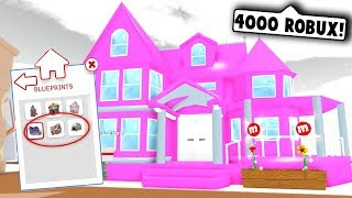 I BOUGHT ALL OF THE NEW HOUSES ON MEEPCITY!... I spent 4000 robux (Roblox Meepcity)