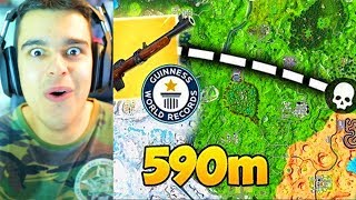 *FORTNITE WORLD RECORD* El TIRO a SNIPER MÁS LEJANO - AlphaSniper97