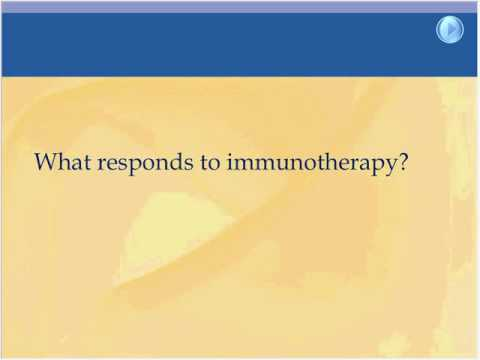 Immunotherapy Advances in Treatment