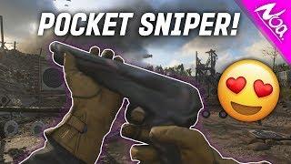 INSANE SECRET WW2 POCKET SNIPER! #R3D - COD WWII Mini Shotgun Sniper Highlights & Gameplay!