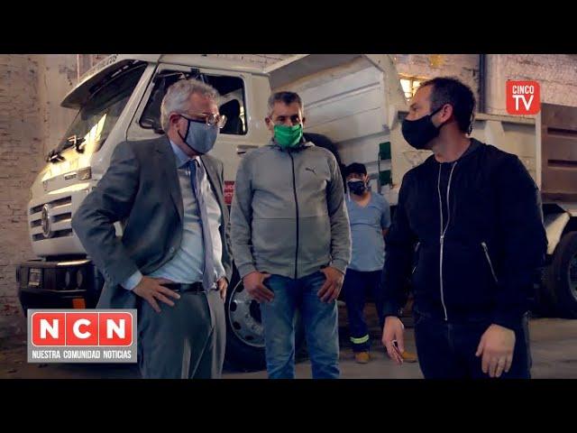 CINCO TV - Julio Zamora recorrió la nueva Delegación de Tigre centro
