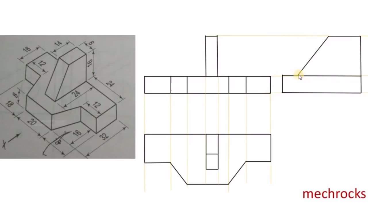 Orthographic Projection Examples