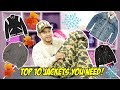 2017 TOP 10 JACKETS FOR FALL & WINTER!