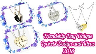 Download lagu Friendship Day Lockets Design and Ideas 2018
