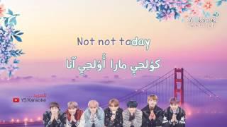 [ نطق/موسيقى فقط/كاريوكي] BTS - Not Today