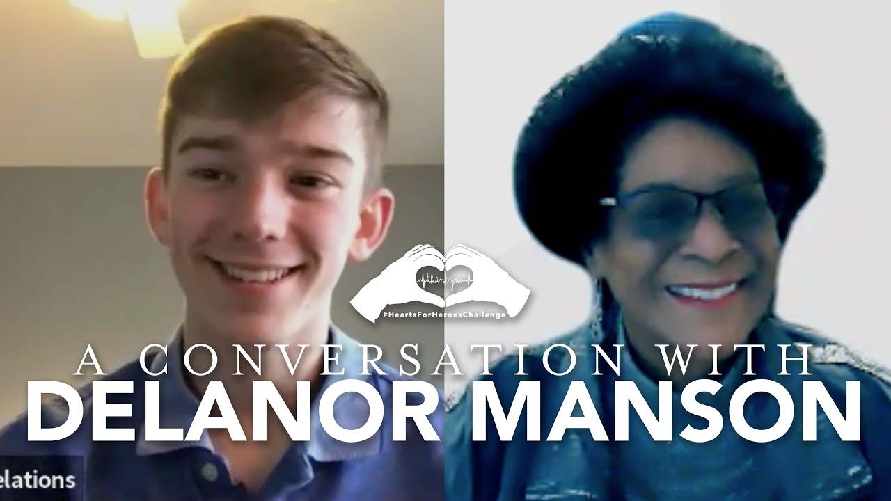 #HeartsForHeroesChallenge | A Conversation with Delanor Manson
