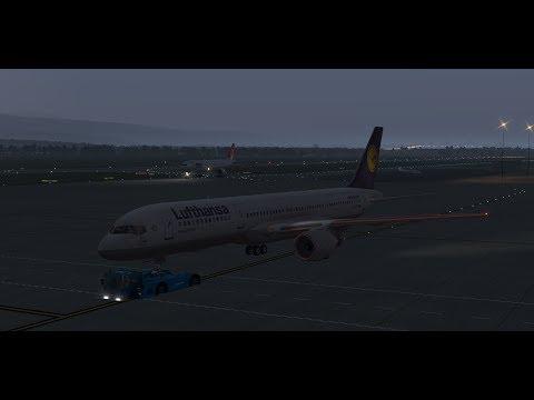 X-Plane 11 - 757 from Geneva to Genoa Airport (Crazy Landing!)