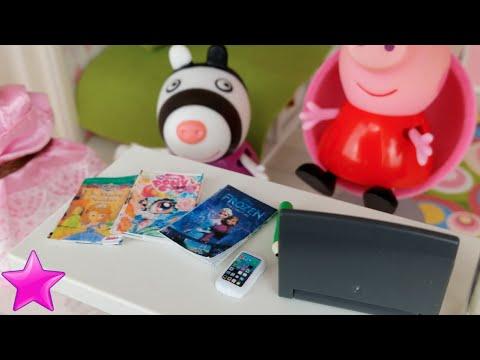Novela Peppa Pig 12ª PARTE/Dormitorio nuevo y visita de Zoe Cebra/Vídeos Peppa Pig