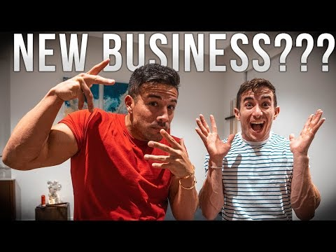 STARTING A NEW BUSINESS TOGETHER?!?!