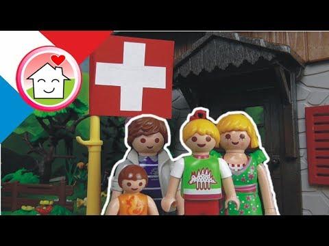 Playmobil en français La famille Hauser en Suisse - film pour enfants