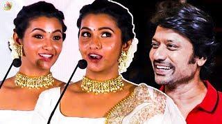 எனக்கு SJ Suryah செட் ஆவாரா - னு தெரியல – Priya Bhavani Shankar Funny Speech I Monster Audio Launch