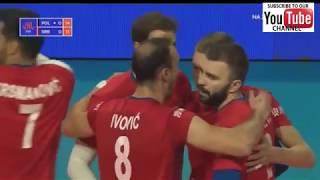Poland Vs Serbia M Vnl 2018 - Full Match Highlights - Hd