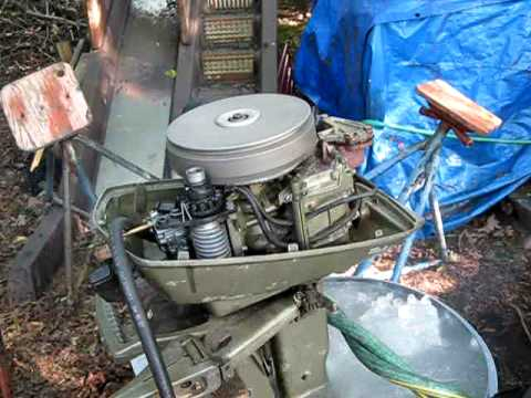 For sale running johnson 6hp outboard boat engine after for 4 horse boat motor