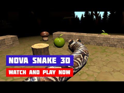 Nova Snake 3D · Game · Gameplay