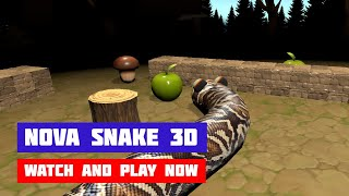 Nova Snake 3D · Game · Gameplay