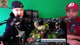Jason Kelce's Epic Rant at Eagles Super Bowl Parade | Reaction