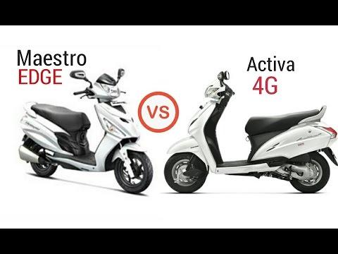 Honda Activa 4G Vs Maestro Edge Review