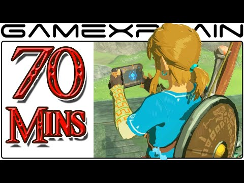70 Minutes of Zelda: Breath of the Wild Gameplay (HIGH QUALITY Direct Feed Compilation)