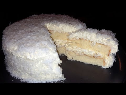 How To Make A Coconut Cake From Scratch