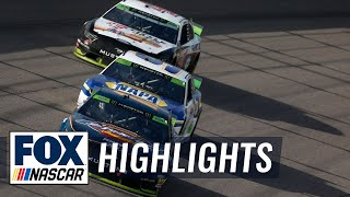 Playoff Race #6 - Kansas | NASCAR on FOX HIGHLIGHTS