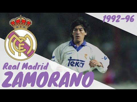 Iván Zamorano | Real Madrid | 1992-1996