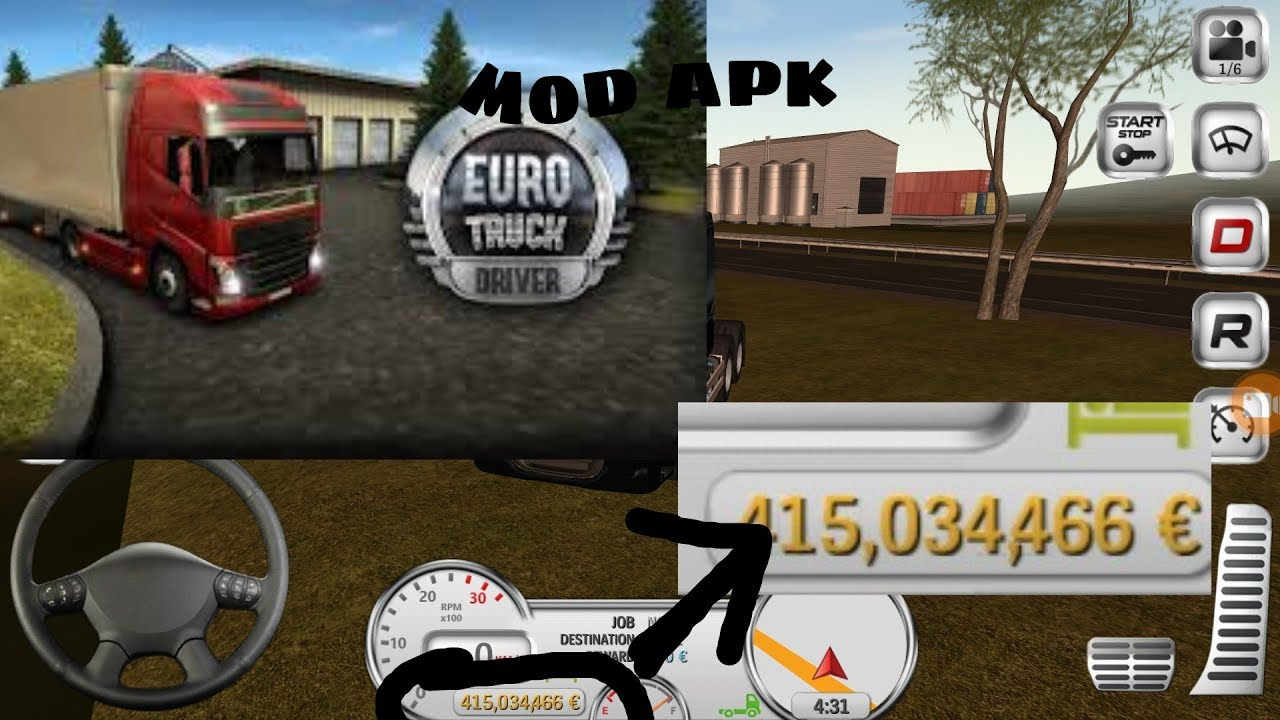 How To Download Euro Truck Driver Mod Apk Youtube