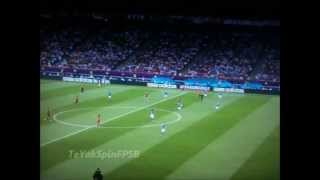 Spain vs Italia 4-0 Jordi Alba & Juan Mota Goals Euro 2012 Final