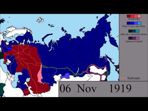 The Russian Civil War: Every Other Day