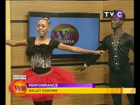Wake Up Nigeria | NIGERIA BALLET CHOREOGRAPHY - 10th August 2017