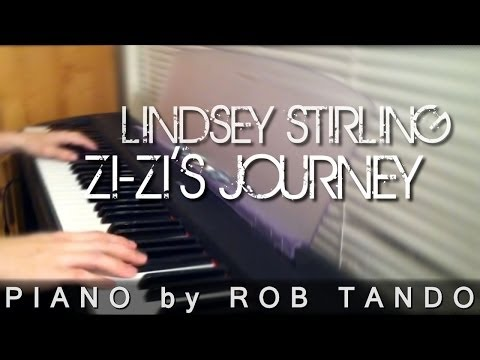 Lindsey Stirling - Zi-Zi's Journey (Piano Cover by Rob Tando)