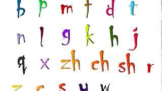 PinYin Initials 拼音声母