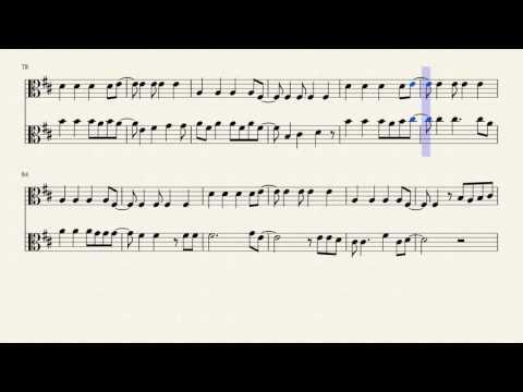 Viva La Vida (2 Parts-Viola)