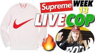 BEST NIKE COLLAB? Supreme S/S '19 Week 13 Live Cop!