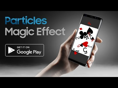 Particles Magic Effect - Android Tutorial