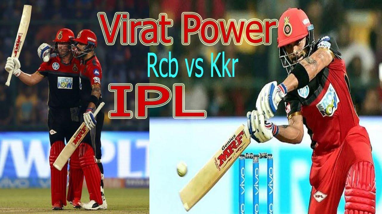 RCB Vs Kkr Vivo IPL 2019 Highlights Match 17- Kohli vs ...