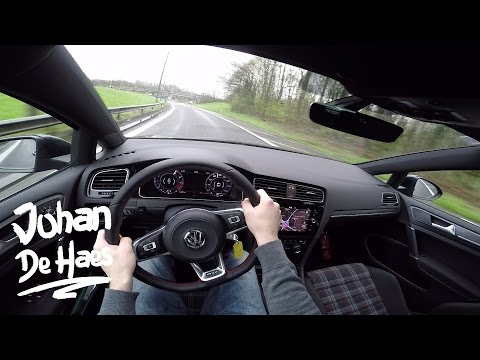 2017 VW Golf GTI 230hp POV test drive GoPro