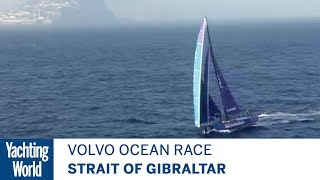 Big breezes for Volvo Ocean Race past Gibraltar, Leg 1 | Volvo Ocean Race