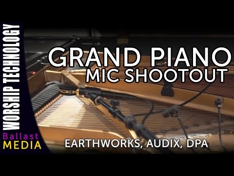 Grand Piano Microphone Shootout