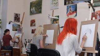 Презентация школы рисования Kiev Art School