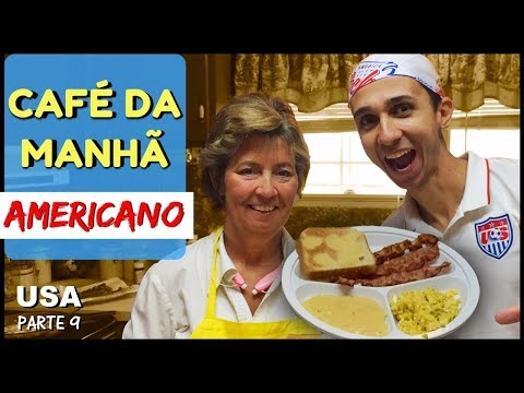 CAFÉ DA MANHÃ AMERICANO (Southern American Breakfast)
