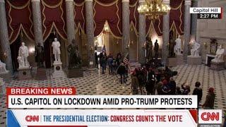 محاولة انقلاب.. رد فعل مذيع CNN عندما شاهد أنصار ترامب يقتحمون الكونغرس
