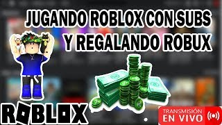 🔴 Playing Roblox With Subs and Giving Robux (Not Interested) 🤑 - Road 2720 Subs